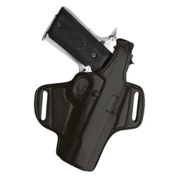 HUNTER HOLSTER HIGH RIDE SIG 938 BLK W/ THUMB BRE