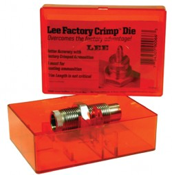 Lee 90807 Factory Crimp Pistol Die 9mm Makarov