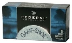 FEDERAL GAME-SHOK AMO 22LR 40 H-VL 10/50RD