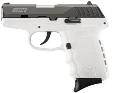 SCCY CPX-2 DAO White / Black 9mm 3.1-inch 10Rds
