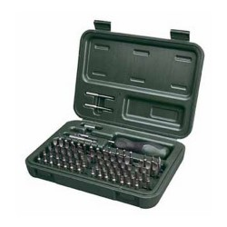 Weaver Multi Bit Gunsmith Tool Kit - Mid Level with 77 Pieces 849718