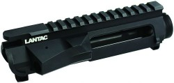 LanTac Upper Advanced Receiver Black Anodized Billet