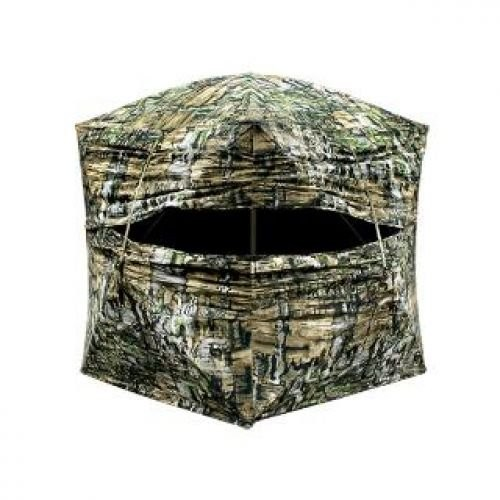 Primos Double Bull Double Wide Deluxe Ground Blind - Blackout