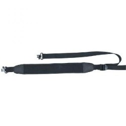 Aae Sling Blk Neoprene W/ Edge Binding & Swivel