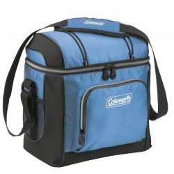 Coleman COLEMAN SOFT SIDED 16 CAN COOLER BLUE W/ LINER