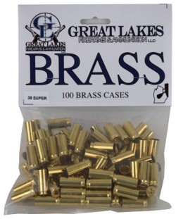 Great Lakes Brass .38 Super
