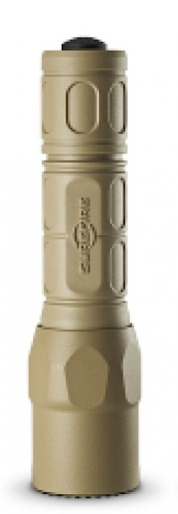 Surefire G2X Pro Flashlight, Tan, 320 Lumens G2X-D-TN