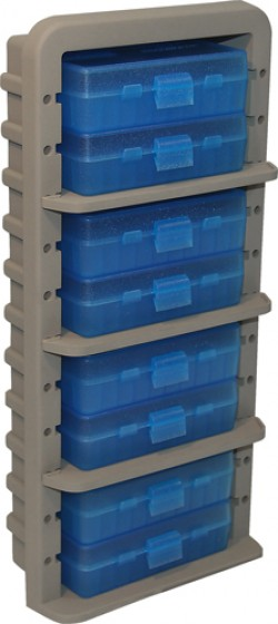MTM Case-Gard Ammo Rack with Eight 9mm Handgun Ammo Boxes, AR9M