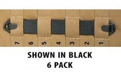 BlackHawk! SPEEDCLIP 6 PACK/ #7 7-inch  BLK