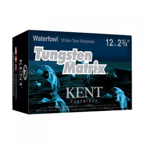 "10 rounds Kent Tungsten Matrix Waterfowl Loads 12 Gauge 2 3/4"", 1 1/4 oz."