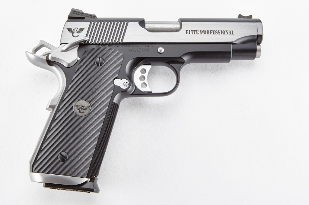 Wilson Combat Elite Professional, Lightweight Upgrade, .45 ACP, Reverse Two-Tone, Stainless/Black