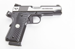 Wilson Combat CQB Commander, 9mm, Reverse Two-Tone, Stainless/Black