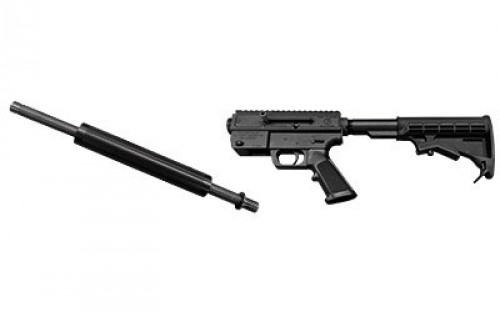 Just Right Carbines Gen 3 Takedown Combo Pack Semi Auto Rifle Black 9 mm 17 inch 17 rd  Theaded Barrel Includes Slingpack
