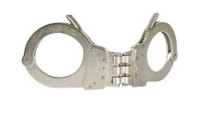 Smith and Wesson Handcuffs Hinged Nickel