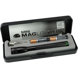 MAG-LITE SPECTRUM SERIES: MINI MAGLITE BLK  LED AAA MMAAA GREEN LDG