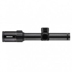 Minox ZX5i Rifle Scope - 1-5x24mm 30mm Plex Reticle Black Matte