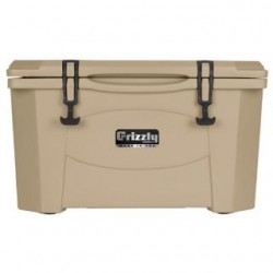 GRIZZLY COOLER 15 QT TAN/TAN