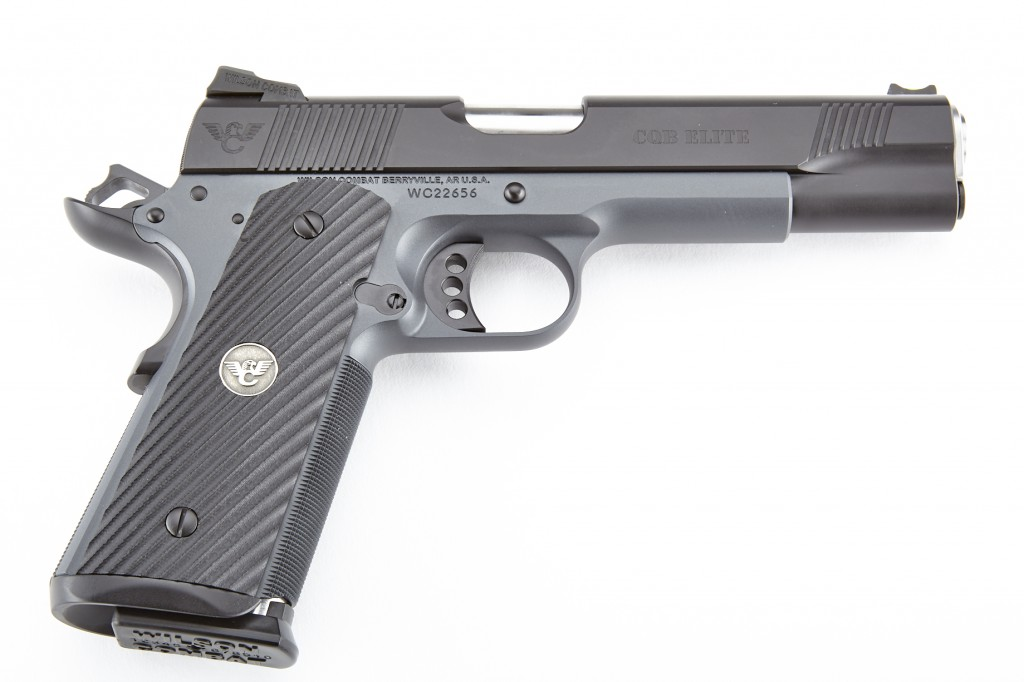 Wilson Combat CQB Elite, Full-Size, 9mm, Black/Gray