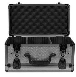 Sportlock AlumaLock Double-Sided Handgun/Range Case,7.6x16.9x2.8,Gray 00005G