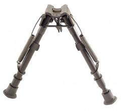Harris Engineering LM 9-13in. Solid Base Bipod, Black - LM1A2