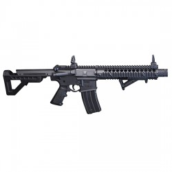 CROSMANS DPMS SBR FULL AUTO BB BLK CO2