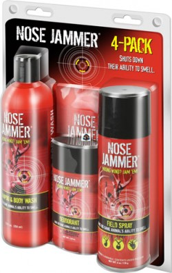 Nose Jammer Scent-Control Four-Pack Combo
