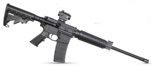 Smith and Wesson M&P 15 Sport II OR with Crimson Trace Red/Green Dot Sight 5.56/.223 Rem 16-inch 30Rds