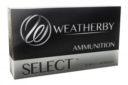 Weatherby Select Plus Norma Spitzer 140 Grain Brass 6.5-300 Wby. Mag 20Rds