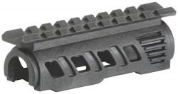Command Arms RS47T AK47 Upper Handguard w/Rails Polymer Black
