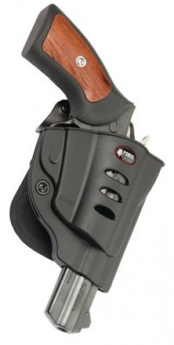 Fobus Evolution 2 Black Paddle Holster for Ruger GP100
