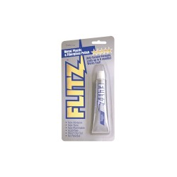FLITZ PASTE .07OZ PACKET IN JAR DISPLAY