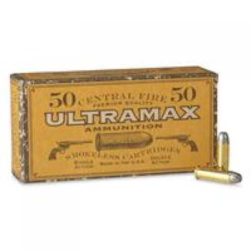 Ultramax Cowboy Action, .38 Special, RNFP, 125 Grain, 50 Rounds