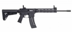 Smith and Wesson M&P15-22 .22 LR 16.5-inch 25Rd Magpul MOE Slim Rail