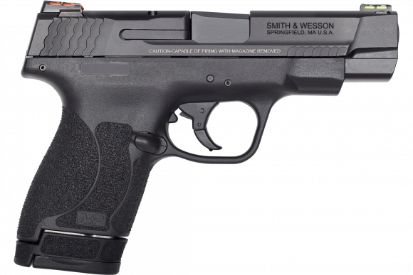 "Smith & Wesson M&P40 Shield 11796 PFMC 40 2.0 4"" FO(GR/RD)7/6rd"