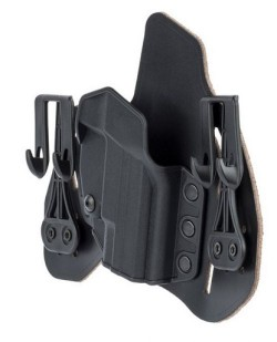 Blackhawk Tuckable Leather Pancake Holster For Glock 9 40 357 Black Right Hand 422001BK-R
