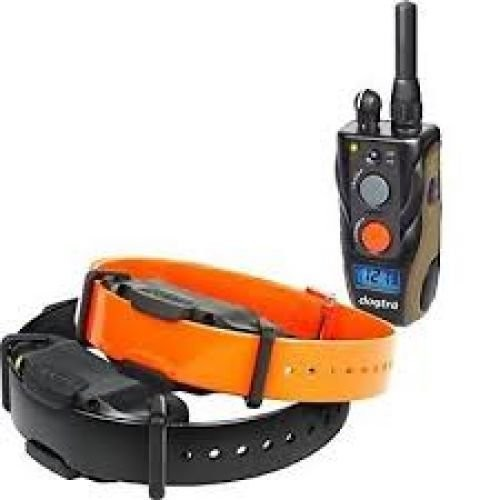 Dogtra 1900S or 1902S E-Collar Dog Training System - 2 Dog Unit - Black/Orange
