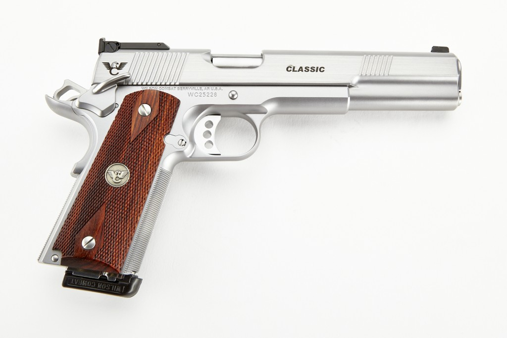 Wilson Combat Classic, Full-Size, 10mm, Stainless Steel