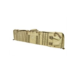 VISM 48in Soft Rifle Case/Shooting Mat w/ PALS Webbing - Tan CVSM2913T