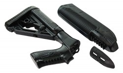 Adaptive Tactical 02000 EX STK & FORND 870 BLK