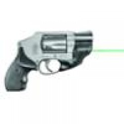 LaserMax Green Laser Trigger Guard S&W J Frame Revolvers 1/3N Lithium Battery Polymer Body Black