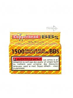 Crosman Copperhead BBs 1500 Count