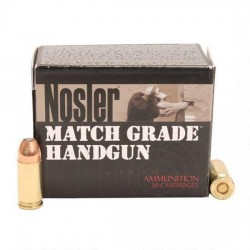 Nosler 51286 Match Grade Handgun 9MM 124GR