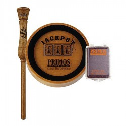 PRIMOS JACKPOT FRICTION SLATE CALL W/GLASS TURKEY CALL