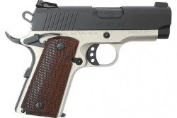 "European American Armory MC1911SC Officer .45 ACP 3.4"" Barrel 6 Round Capacity Bi-Tone Finish"