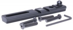 GG&G Black Standard/Heavy Duty Bipod Adapters for PSS Rifle