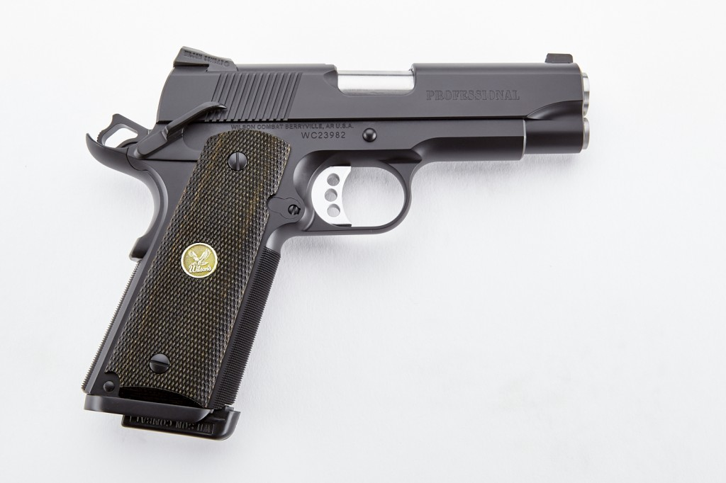 Wilson Combat Professional, .45 ACP, Black, CA Approved