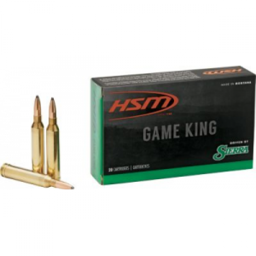 HSM Game King Rifle Ammunition