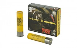 FEDERAL AMMUNITION 20 Gauge 3 in 1-1/2 oz #9 Shot Heavyweight TSS 5/Box