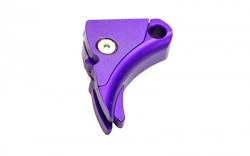 Lone Wolf Distributors Ultimate Adjustable Trigger Purple Shoe Only