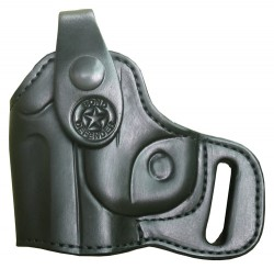Bond Arms Holster Left Handed Thumbsnap For Back-up Leather Black